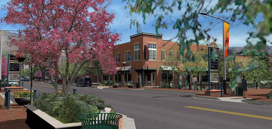 Project: Proposed downtown redevelopment plan, Carson City Nevada