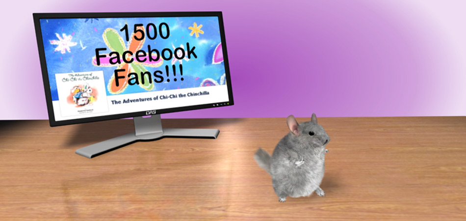 Project: Chi Chi the Dancing Chinchilla. For Katia Gaidouk, inspired from her children's book